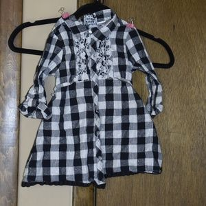 Pogo Club Size 3T Girls Button Up Shirt